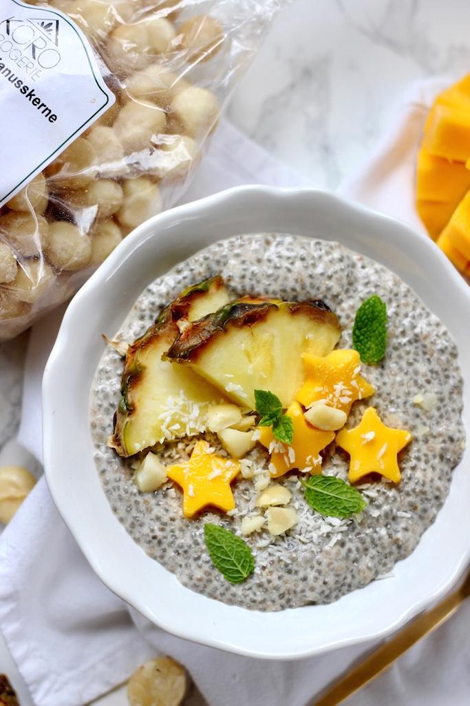 Macadamia-Chia-Pudding