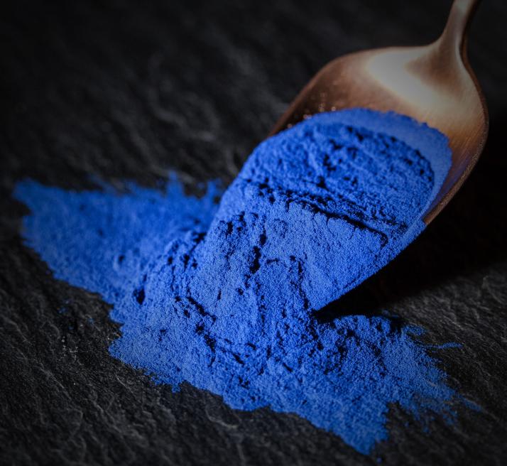 Blau-Spirulina